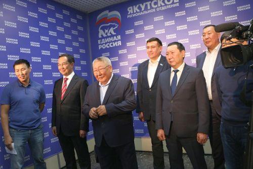 Глава Республики Саха (Якутия) Егор Борисов сообщил, что явка избирателей на выборах 10 сентября с.г. в Якутии превысила 40%