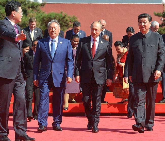 Парад в Пекине, 3 сентября 2015 г. Владимир Путин прибыл в Китай