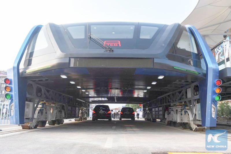 Модель Transit Elevated Bus (TEB)